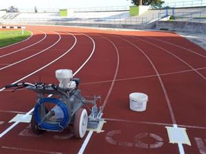 Athletic Track Construction  ,Tartan,Synthetic rubber surfacing,Tartan track
