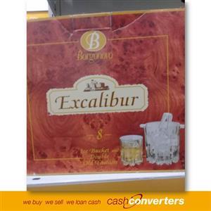 Borgonovo Excalibur Old Fashioned 8 pcs Whisky Set
