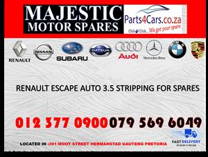Renault escape auto used spares for sale