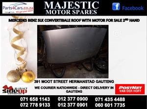 Mercedes benz used convertible roof for sale