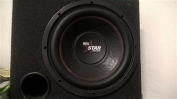 Star sound Sub and Star sound amp