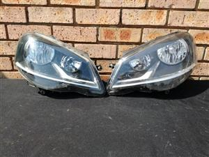 Volkswagen Polo Vivo Facelift Headlight