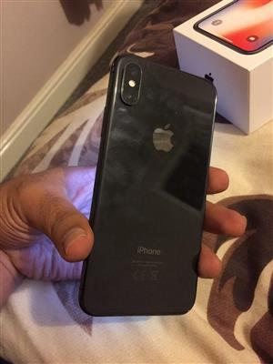 New Apple iPhone X,with box.. 256gb!