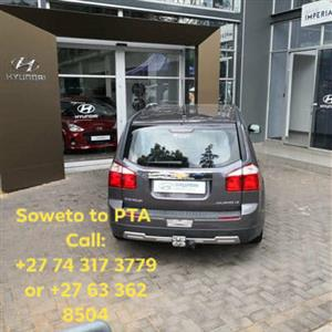 Lift club / Car Pool - Soweto to Centurion / Pretoria / Silverton