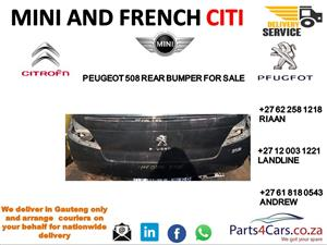 peugeot 508 rear bumper for sale
