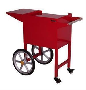 Popcorn Machine Cart Wheels Black or Red