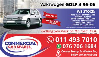 New VW Golf 4 96- Body Parts And Spares For Sale At Car Spares