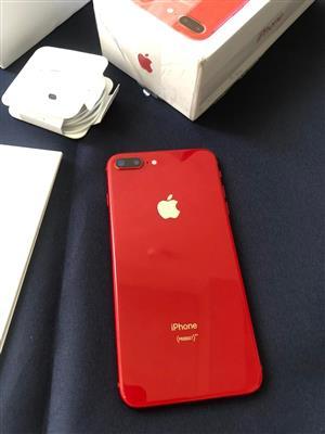 Apple iPhone 8 plus RED 64GB