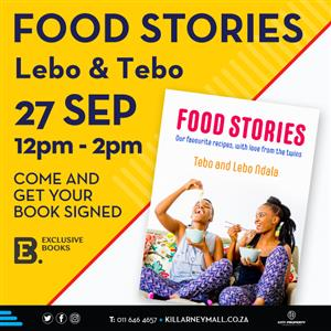 Final Friday Foodie Market with Lebo and Tebo