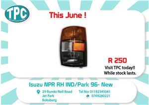 Isuzu NPR RH IND/Park 96- New for Sale at TPC