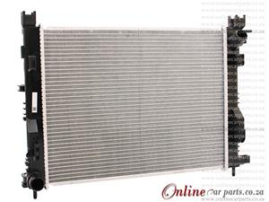 Renault Captur 0.9T 1.2 1.5D 2015- Automatic/Manual Transmission Radiator