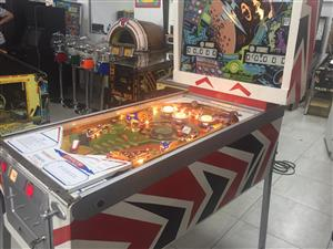 Orbit Pinball Machine, a 4 player pinball machine manufactured by Gottlieb for sale