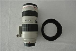 Canon EF 70 to 200mm 1:2.8L USM Lens