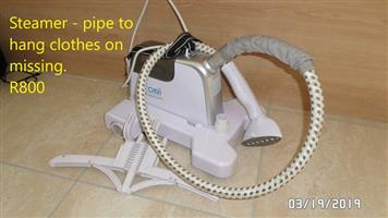 White steamer for sale