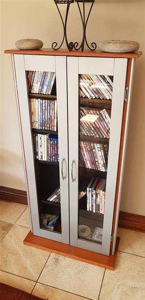 2 Door dvd cabinet for sale