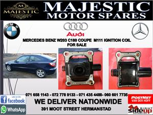 Mercedes benz W203 M111 C180 coupe ignition coil for sale