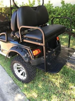 4 setaer electric golf cart for sale.