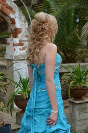 Beautiful Blue Matric Farewell / Prom dress