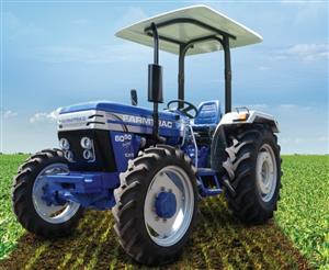 S3106 Blue Farmtrac 6050 50Hp/35kW 4x4 New Tractor