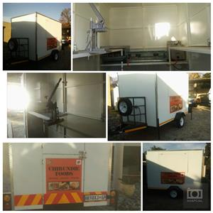 Gas certified Mobile Kitchen Trailer