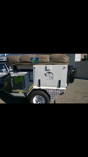 Used, Jurgens XT 140 camping Trailer. FULL HOUSE for sale  Randburg