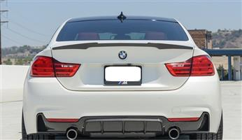 BMW 4 Series (F32/F33) Rear M4 Style Boot Spoiler – Carbon Fiber