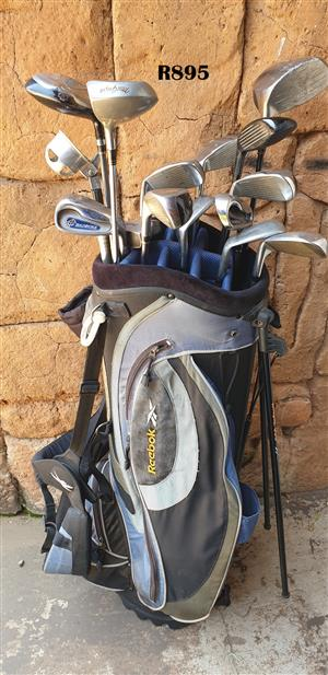 Rheebok Golfbag with 14 Clubs