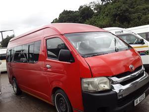 2009 Toyota Quantum 2.7 GL 14 seater bus
