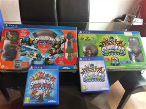Ps4 Skylanders games and characters for sale