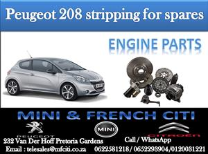 Wide Variety of Peugeot 208 Engine Parts for sale contact us today and get great deals!!!