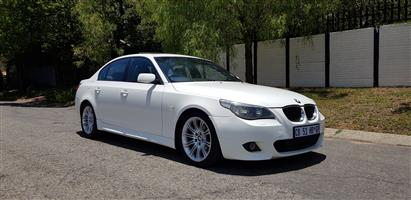2007 BMW 5 Series 525i M Sport steptronic