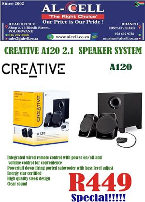 Creative A120 SBS 2.1 Speaker System