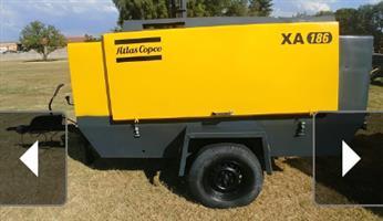 ATLAS COPCO XA186 COMPRESSOR
