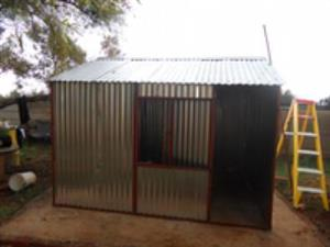 We manufacture all types of steel huts for different sizes all prices including delivery & installation kindly contact us for more information