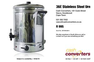 36ℓ Stainless Steel Urn