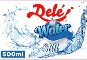 Bottled water @ R 60 per case of 24 units - 500ml