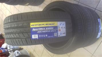 225/40/18 brand new tyres on special R999 each
