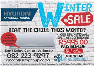 Air conditioner  From Only R5995