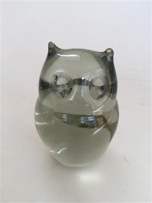 Handmade Ngwenya African Owl Paper weight