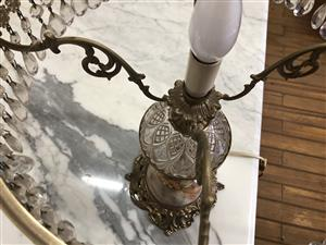 beautifull crystal beaded lamp