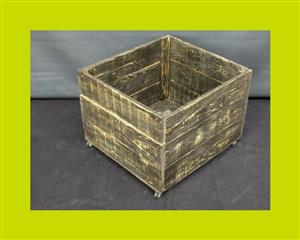 Small Pine Packing Crate - SKU: 574