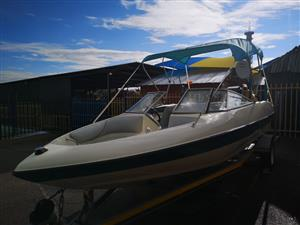 Sensation 19ft, 125Hp  Mercury