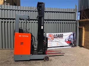 Forklift reach truck 1.8ton toyota