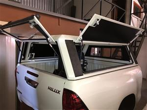 Brand new 3 Door ALU canopy for a Toyota Extended Cab