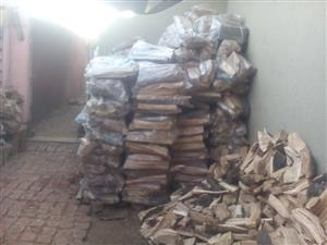 Firewood for domestic and commercial uses.