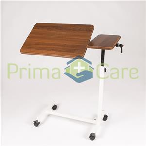 Luxury Overbed Table. Adjustable. ON SALE. Suitable For Hospital Beds and Home Care