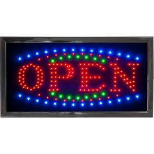 It's A Steal! LED Open Light Sign (New)