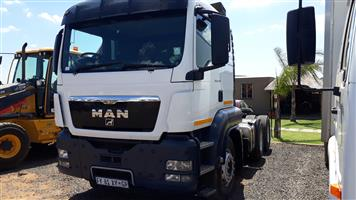 Man TGS 27-440 D/D with Hydraulics