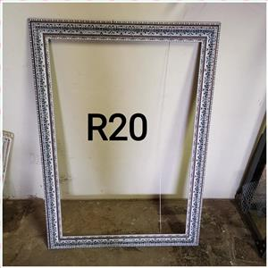 Large silver sequence frame for sale