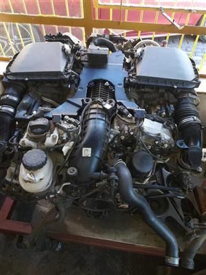 Mercedes Benz W166 ML63 V8 BiTurbo Complete Engine Now On Sale